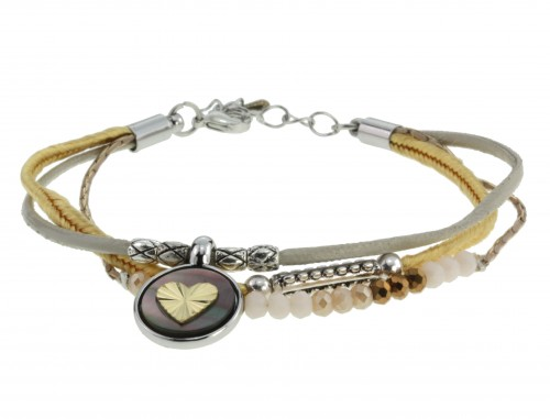 Armbandje Love shells