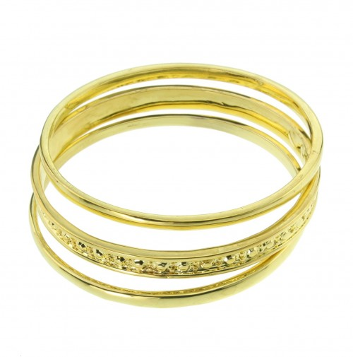 Bangle set goudkleurig