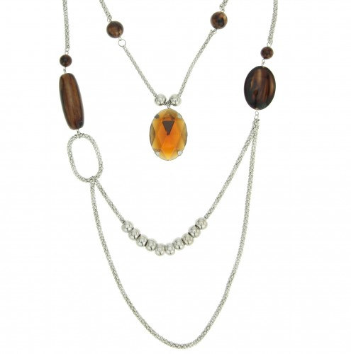 Lange ketting double layer